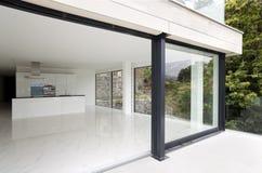 Mooi modern huis stock foto's