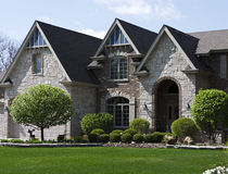 Mooi Modern Huis Stock Afbeelding