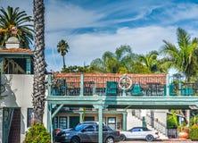 Mooi motel in Zuidelijk Californië stock afbeelding