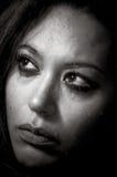 Mooi multiraciaal meisje in scheuren stock foto's