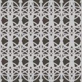 Mooi naadloos patroon met geometrisch ornament Stock Afbeeldingen