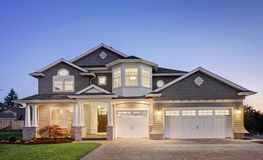 Mooi Nieuw Huis Stock Afbeelding