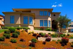Mooi nieuw huis Stock Foto