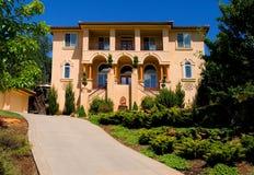 Mooi nieuw huis Royalty-vrije Stock Fotografie