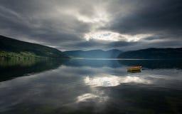 Mooi Noorwegen Royalty-vrije Stock Afbeeldingen