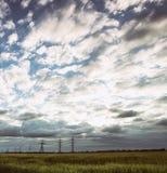 Mooi Oekraïens landschap Stock Foto's