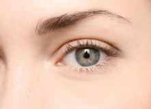 Mooi oog royalty-vrije stock afbeelding