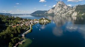 Mooi Oostenrijks landschap stock afbeeldingen