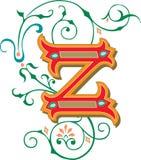 Mooi ornament, Brief Z Royalty-vrije Stock Afbeeldingen