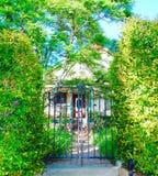 Mooi oud huis Royalty-vrije Stock Foto's