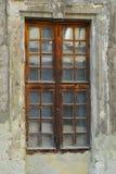 mooi oud venster Stock Afbeeldingen
