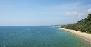 Mooi overzees landschap Stock Foto