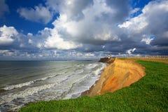 Mooi overzees strand stock afbeeldingen