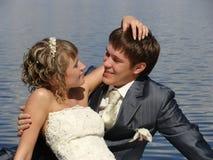 Mooi paar in liefde Royalty-vrije Stock Afbeelding