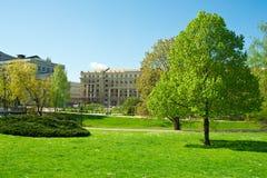 Mooi park Royalty-vrije Stock Afbeeldingen