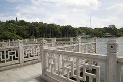 Mooi park in de stad Nanning stock foto's