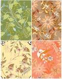 Mooi patroon bloemen Stock Fotografie