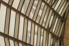 Mooi patroon van de abstracte moderne architectuurbouw in Su Stock Afbeeldingen