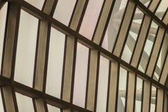 Mooi patroon van de abstracte moderne architectuurbouw in Su Stock Afbeelding