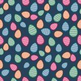 Mooi patroon voor Gelukkige Pasen-viering Royalty-vrije Stock Fotografie