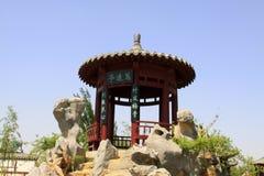 Mooi paviljoen in een park Stock Afbeelding