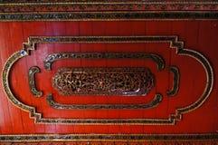 Mooi plafond in Wat Sri Rong Muang, Lampang, Thailand Stock Foto's