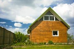 Mooi plattelandshuisje Stock Foto's