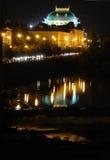 Mooi Praag bij Nacht Royalty-vrije Stock Afbeeldingen