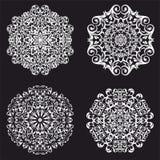 Mooi rond patroon vector illustratie
