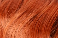 Mooi rood haar als achtergrond Royalty-vrije Stock Fotografie