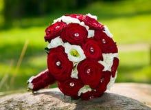 Mooi rozenboeket voor huwelijk royalty-vrije stock foto's