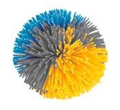 Mooi rubberstuk speelgoed Royalty-vrije Stock Afbeelding