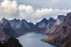 Mooi schot van bergen stock fotografie