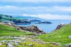 Mooi Schots landschap royalty-vrije stock foto's