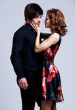 Mooi sexy paar in liefde Royalty-vrije Stock Afbeelding