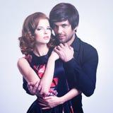 Mooi sexy paar in liefde Royalty-vrije Stock Foto's
