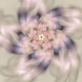 Mooi spiraalvormig patroon Abstracte achtergrond met geometrisch e Royalty-vrije Stock Foto