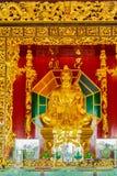 Mooi Standbeeld van Lu Dongbin, patriarch van Chinese sekten, 1 van 8 Onsterfelijke deities en gerespecteerd door Taoist en popul royalty-vrije stock afbeeldingen