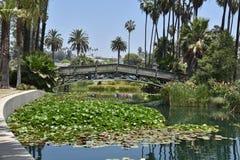 Mooi stedelijk park royalty-vrije stock afbeelding