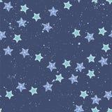 Mooi sterpatroon op donkere achtergrond Royalty-vrije Stock Afbeelding