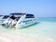 Mooi strand bij Tachai-eiland, Thailand Royalty-vrije Stock Foto