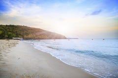 mooi strand, Chonburi Thailand Stock Afbeeldingen