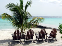 Mooi strand in Curacao Royalty-vrije Stock Afbeelding