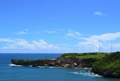 Mooi strand in het land van Indonesië royalty-vrije stock afbeeldingen