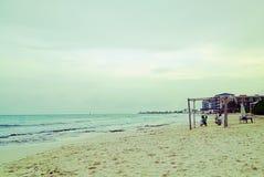 Mooi strand, Maya riviera Royalty-vrije Stock Foto's