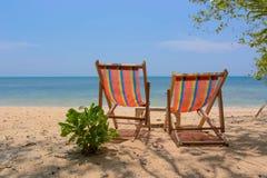 Mooi strand in Thailand. Stock Afbeeldingen