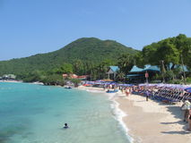Mooi strand in Thailand Stock Foto