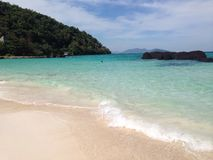 Mooi strand in Thailand Royalty-vrije Stock Afbeelding