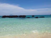 Mooi strand in Thailand Royalty-vrije Stock Foto