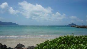 Mooi strand van Con Dao, Vietnam stock videobeelden